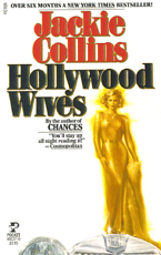 Jackie Collins Hollywood Wives Cover Art by Roger Kastel